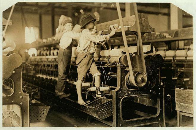 enfant travail entreprise textile
