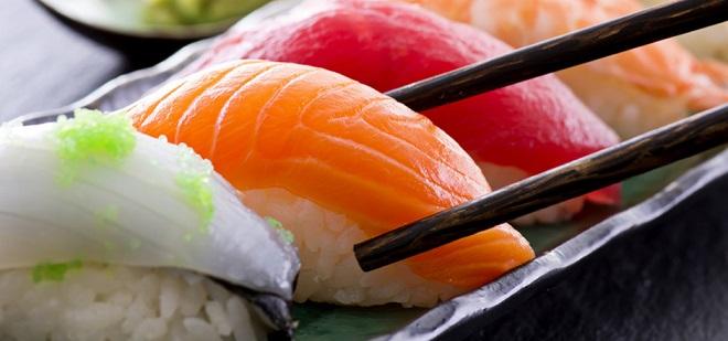 sushis calories