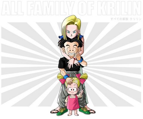 famille krilin