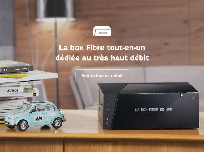 box fibre zive sfr