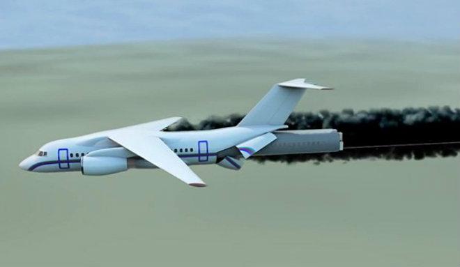 capsule crash avion
