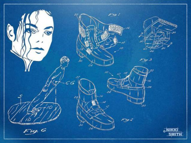 chaussures brevetees michael jackson