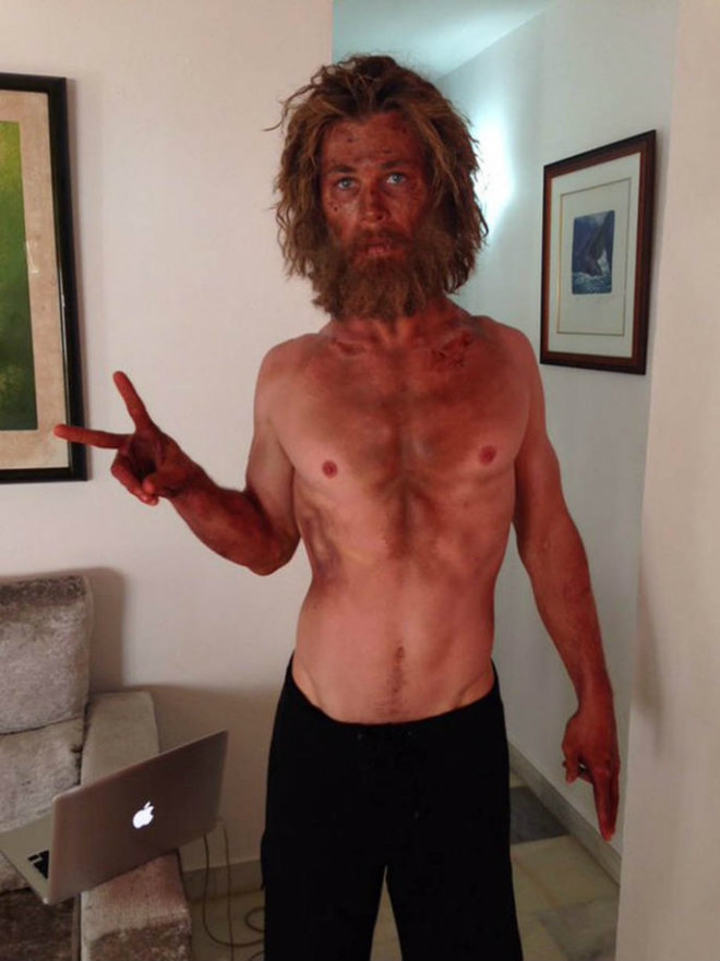chris hemsworth au coeur de locean