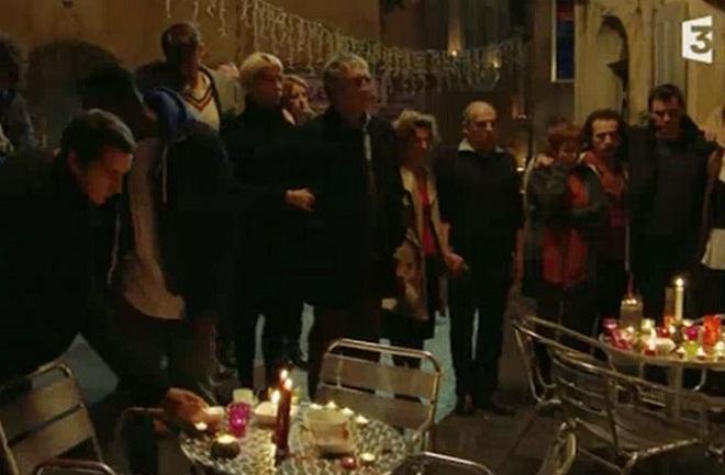 plus belle vie hommage attentats paris