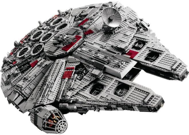 faucon millenium ultimate lego