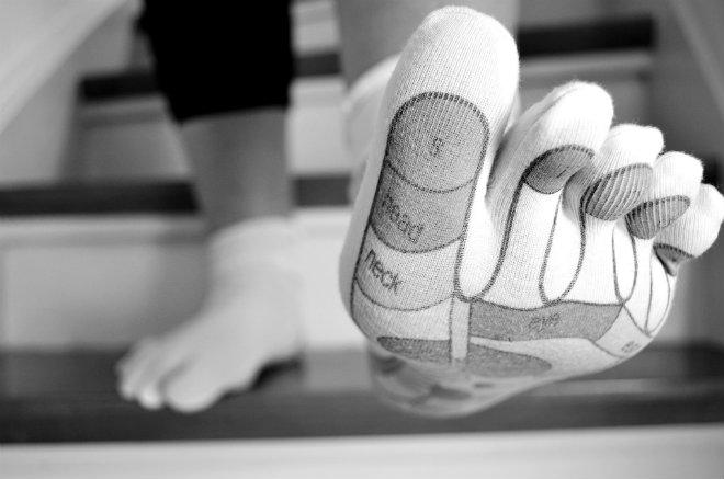 reflexologie plantaire pieds