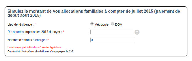 simulateur allocations famililales