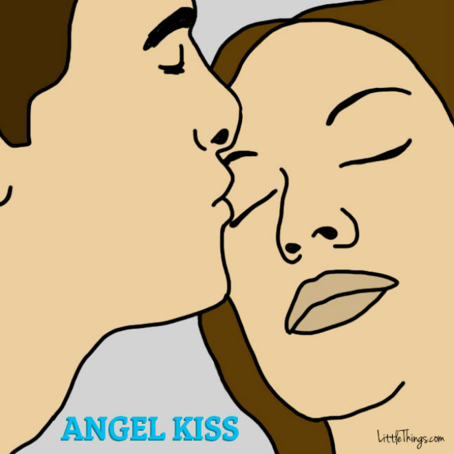 baiser ange