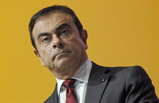 carlos ghosn pdg renault