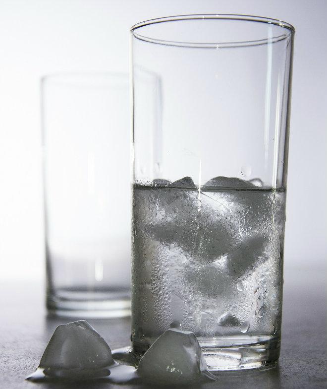eau glacee