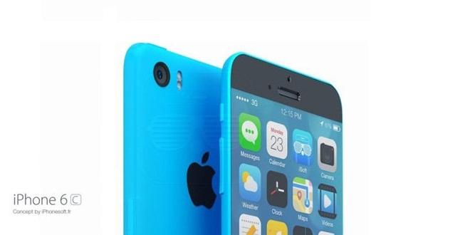 Concept de l'iPhone 5e / 6c