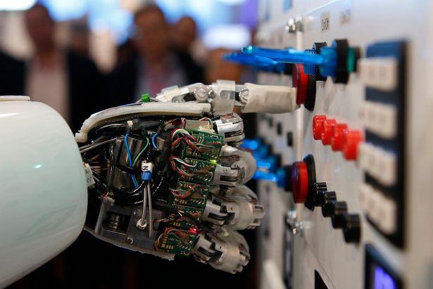 Robots emplois