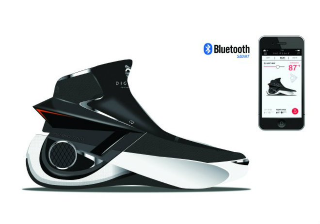 smartshoe digitsole bluetooth