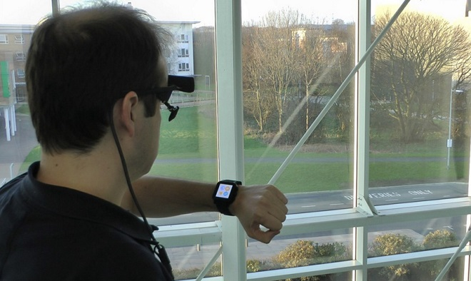 Smartwatches eye tracking