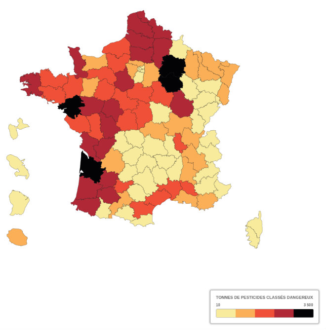 carte pesticides france