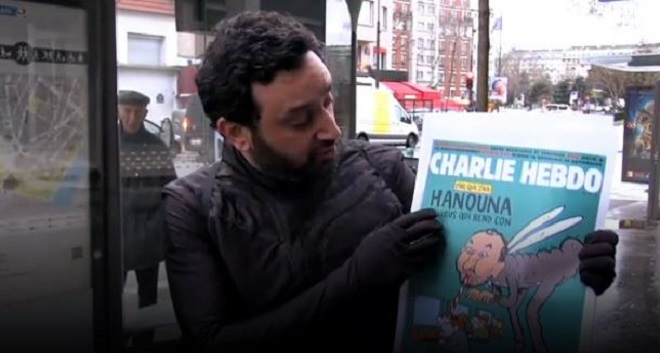 cyril hanouna répond charlie hebdo
