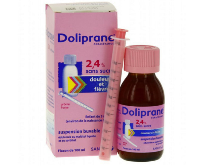 doliprane pediatrique