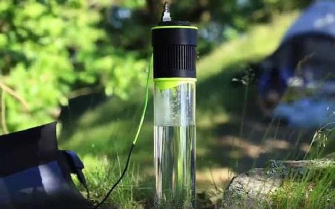 Fontus : la bouteille qui transforme l'air en eau