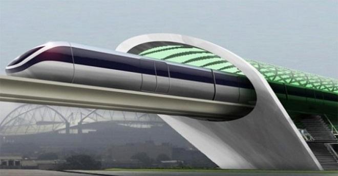 Hyperloop Slovaquie Autriche Hongrie