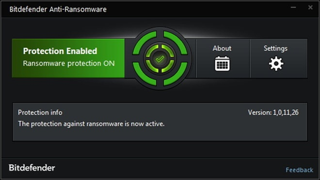Bitdefender outil anti-ransomware