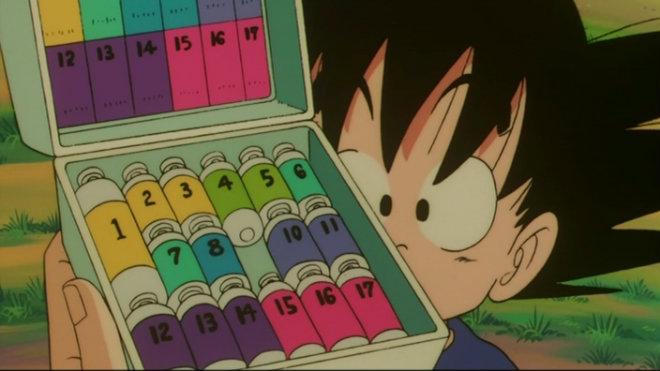 capsules goku