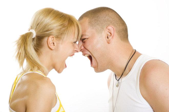couple dispute separation