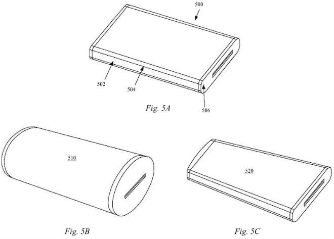 différents ecrans flexibles iphone