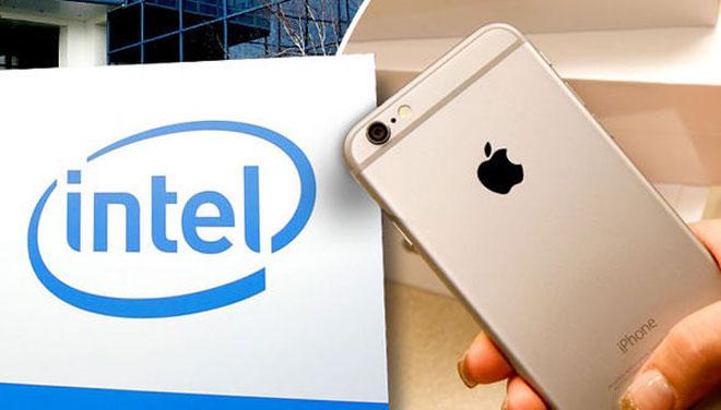 iPhone 7 modem intel
