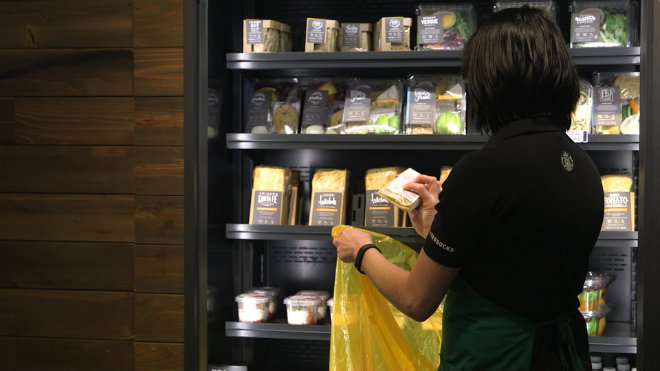 starbucks gaspillage alimentaire 2