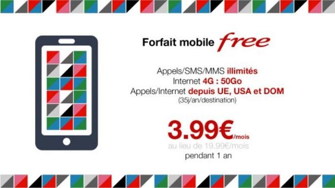 vente privée forfait free mobile illimité