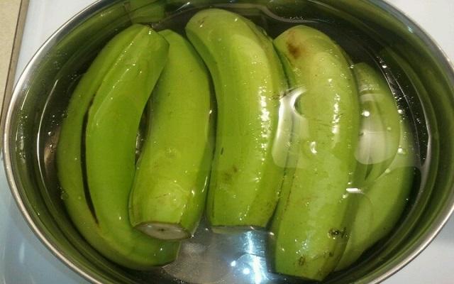 banane bouillie
