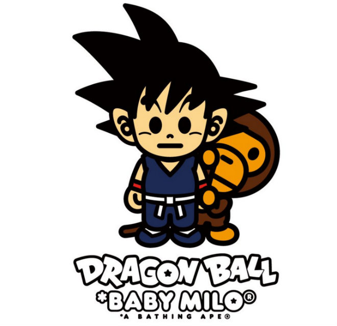 collection bape dragon ball