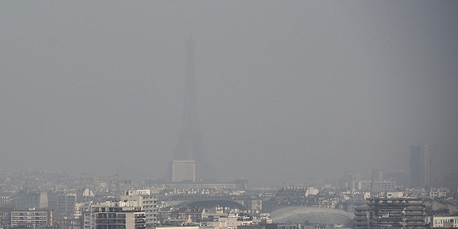 Pollution air particules fines France