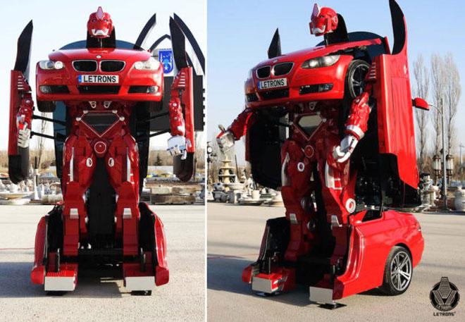 Ils ont créé un vrai robot Transformer à partir d'une BMW