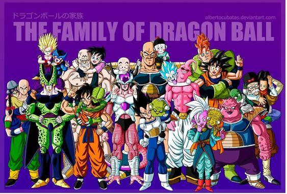 famille dragonball