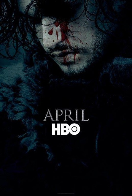 affiche officielle game of thrones saison 6