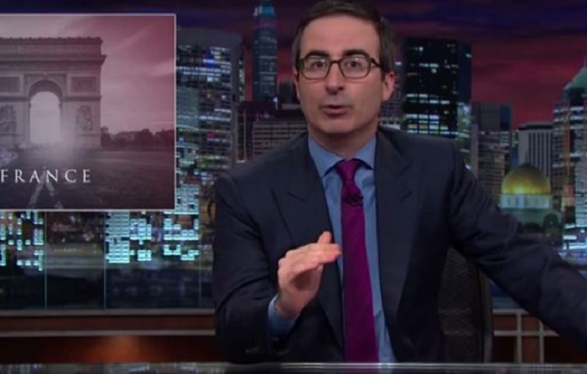 john oliver attentas paris