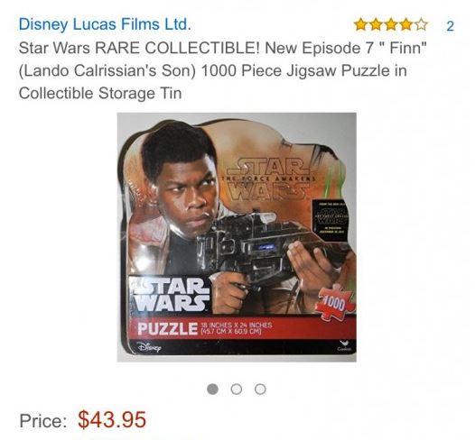 puzzle finn star wars