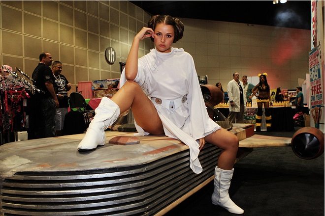 allie haze princess leia