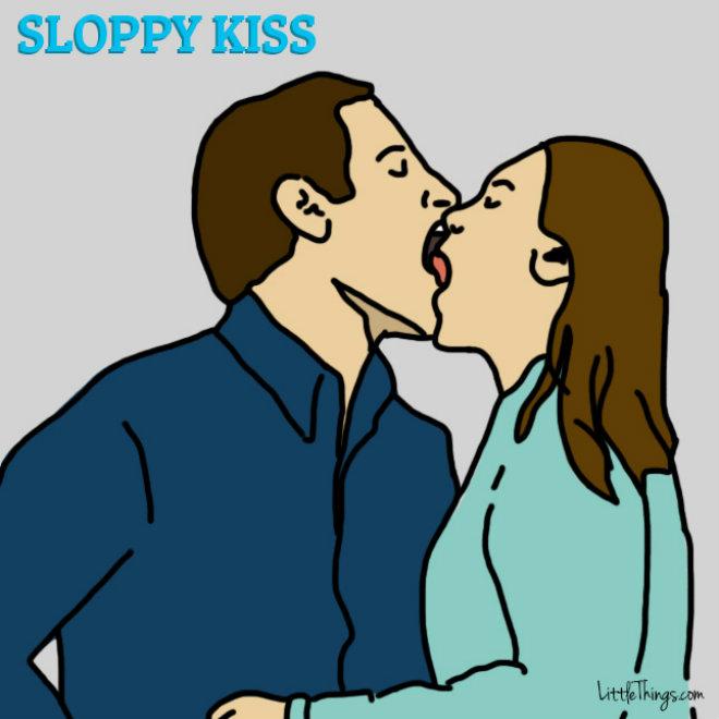 baiser mouille