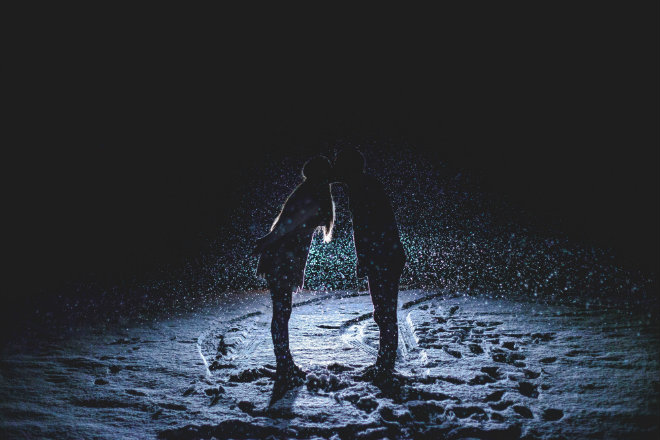 couple hiver