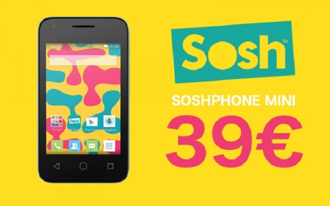 Sosh phone mini 39 euros