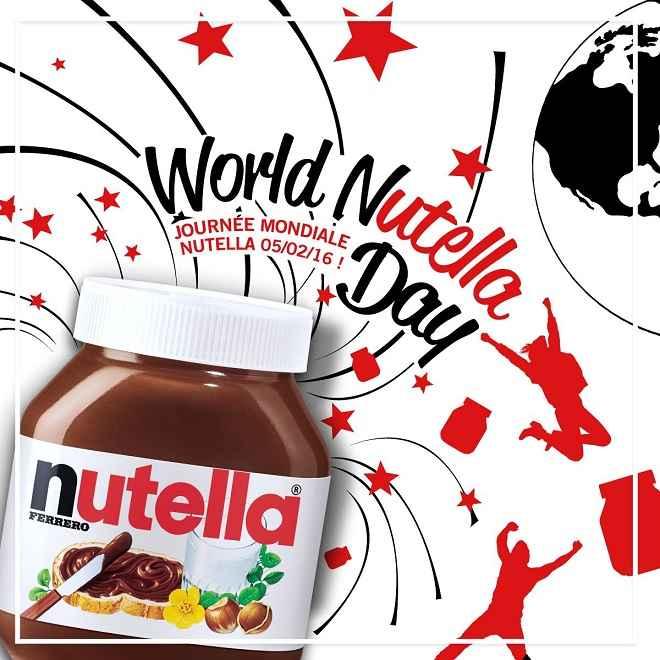 journée mondiale du nutella