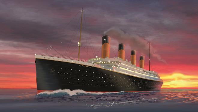 titanic projet réplique