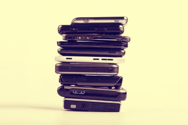 anciens telephones portables