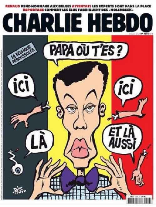 charlie hebdo hommage attentats belgique