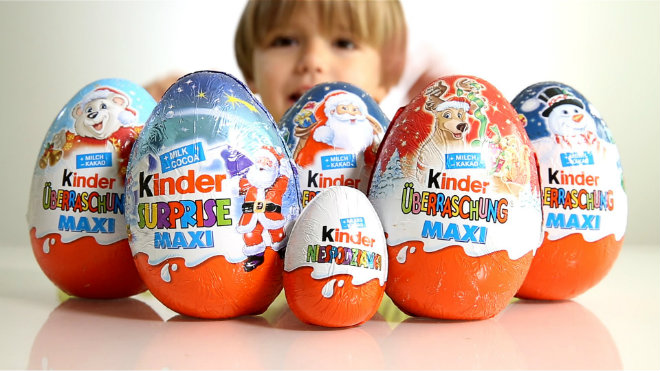 kinder surprise prix
