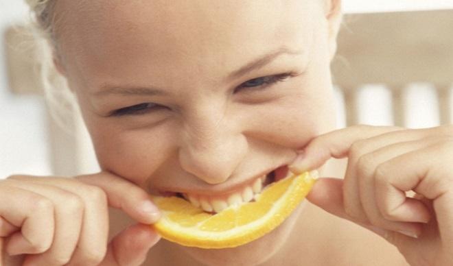 manger orange bénéfique vue