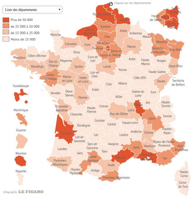 Rsa Plus De 2 5 Millions De Foyers Beneficiaires En France