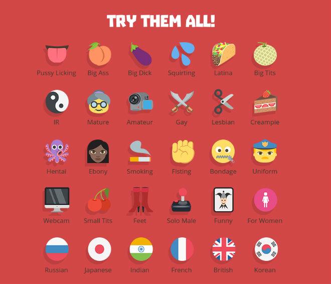 emoji pornhub